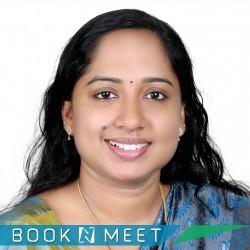 Dr.Anjana Vadakke Rayaroth,ENT,ENT specialist,Otorhinolaryngology,Otorhinolaryngologist,Ear Nose Throat Specialist,ENT surgeons,Otolaryngology,Otolaryngologist,Thiruvananthapuram,Booknmeet